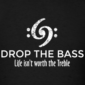Drop the Bass T-Shirt (Men) Vintage White - Men's T-Shirt