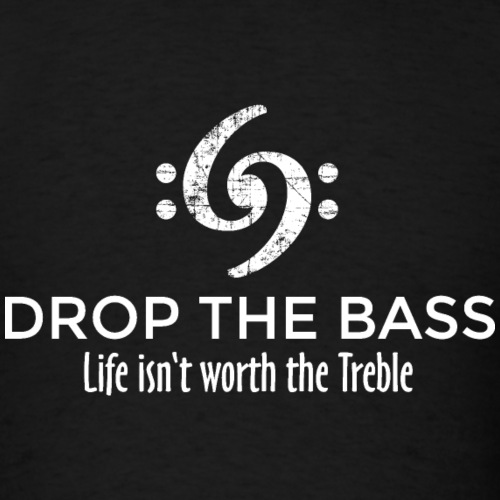 Drop the Bass 69 Vintage White