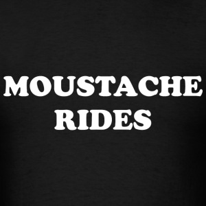 Moustache Rides - Men's T-Shirt