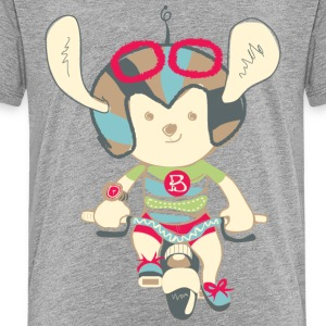 Bunny Ride a Bicycle - Kids' Premium T-Shirt