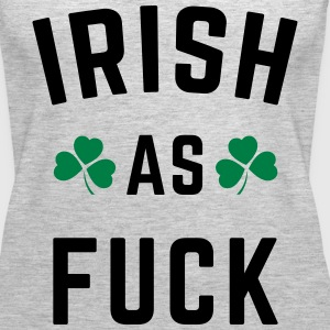 Irish As F*ck Tanks - Women's Premium Tank Top