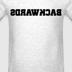 Backwards (2) - Men's T-Shirt