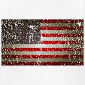 US Flag distressed Kids' Shirts - Kids' T-Shirt