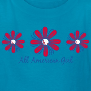All American Girl Kids' Shirts - Kids' T-Shirt