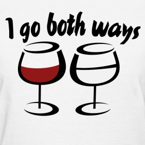 Red wine and white wine - Women's T-Shirt