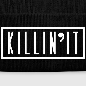 killin'it Sportswear - Knit Cap with Cuff Print