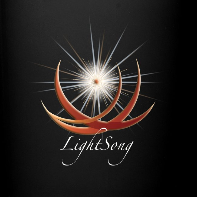 """LightSong """"Never Is Nothing Happening"""" Mug"""