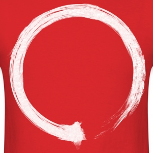 Zen Enso White T-Shirts - Men's T-Shirt