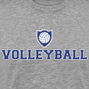 Volleyball and shield T-Shirts - Men's Premium T-Shirt