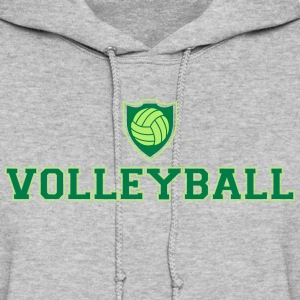 Volleyball and shield Hoodies - Women's Hoodie