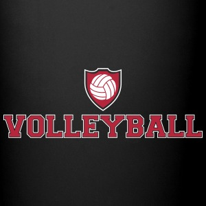 Volleyball and shield Mugs & Drinkware - Full Color Mug
