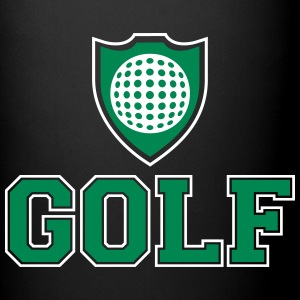 Golf and shield Mugs & Drinkware - Full Color Mug