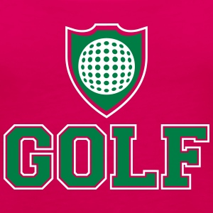 Golf and shield Tanks - Women's Premium Tank Top