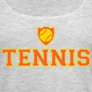 Tennis and shield Tanks - Women's Premium Tank Top