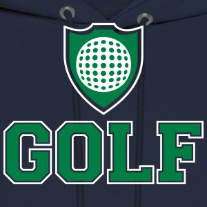 Golf and shield Hoodies - Men's Hoodie