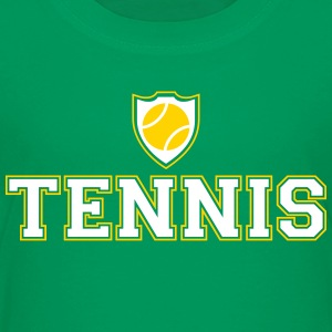 Tennis and shield Kids' Shirts - Kids' Premium T-Shirt