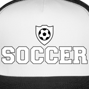 Soccer and shield Caps - Trucker Cap