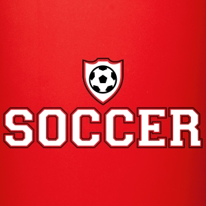Soccer and shield Mugs & Drinkware - Full Color Mug