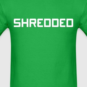 Shredded (2) - Men's T-Shirt