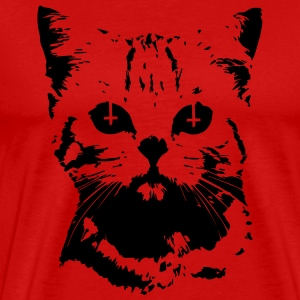 Evil Cat T-Shirts - Men's Premium T-Shirt