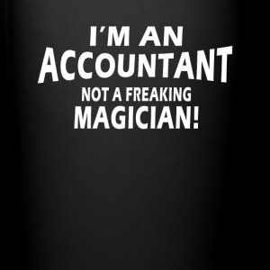 Accountant not magician Mugs & Drinkware - Full Color Mug