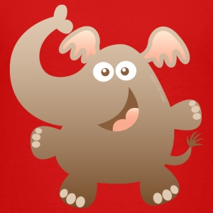 Smiling Little Elephant Kids' Shirts - Kids' Premium T-Shirt