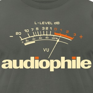 audio T-Shirts - Men's T-Shirt by American Apparel