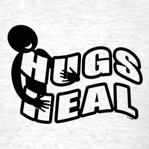 Hugs Heal - Men's T-Shirt