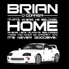 Brian O'Conner- Where he's always belonged - White - Men's Premium T-Shirt