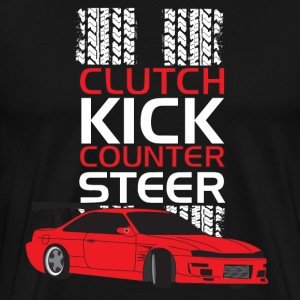 Clutch Kick Drift-white - Men's Premium T-Shirt
