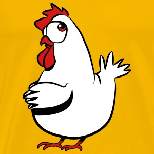 Lay chicken T-Shirts - Men's Premium T-Shirt