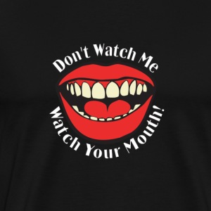 mouth-2 T-Shirts - Men's Premium T-Shirt
