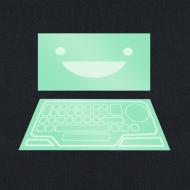 Design ~ Netrunner dinosaurus screen
