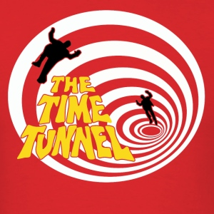 The Time Tunnel - Men's T-Shirt