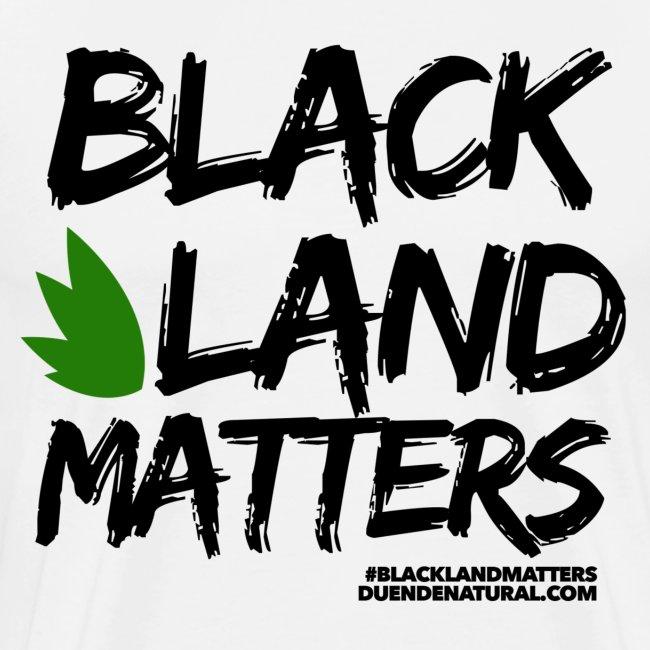 Duende #BlackLandMatters V3 Mens-White