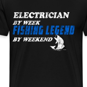 Electrician Fisherman T-Shirts - Men's Premium T-Shirt