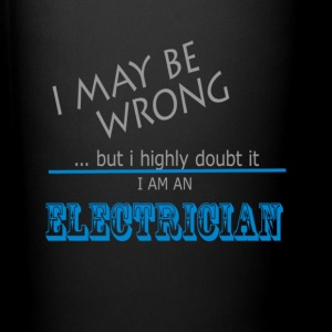 Electrician never wrong Mugs & Drinkware - Full Color Mug