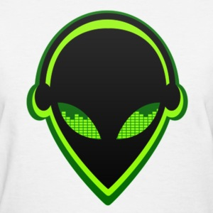 ALIEN DJ - Women's T-Shirt