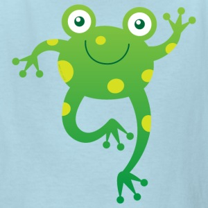 Smiling Little Frog Kids' Shirts - Kids' T-Shirt