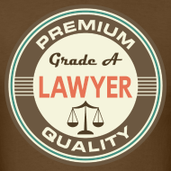 Design ~ Lawyer Quote Mens T-shirt