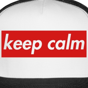 keep calm Caps - Trucker Cap