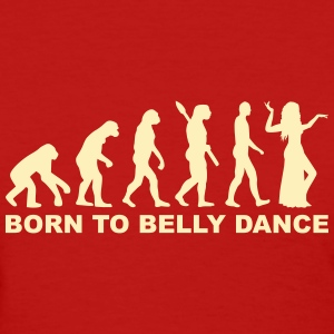 Evolution belly dance Women's T-Shirts - Women's T-Shirt