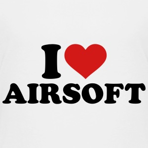 I love Airsoft Kids' Shirts - Kids' Premium T-Shirt
