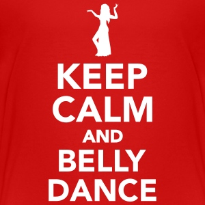 Keep calm and belly dance Kids' Shirts - Kids' Premium T-Shirt