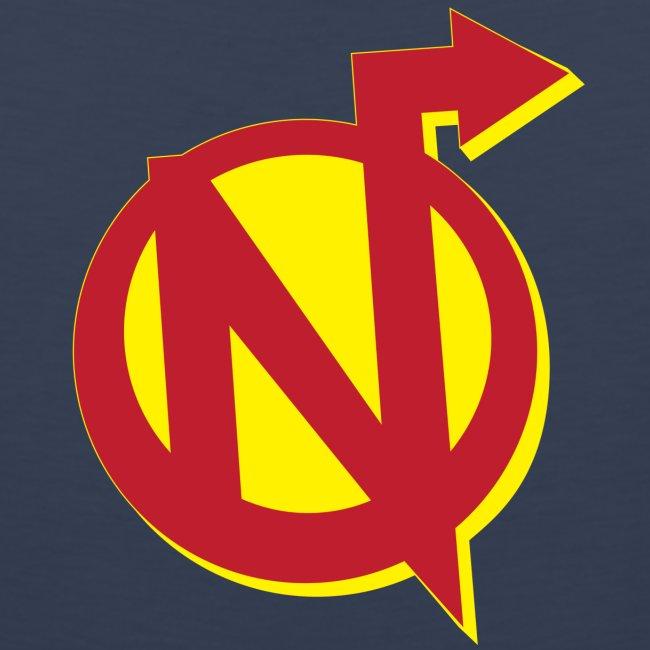 Nerdarchy N Logo Men's Premium Tank Top
