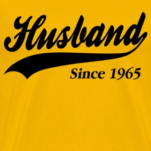 Husband Since 1965 T-Shirts - Men's Premium T-Shirt