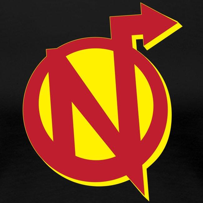 Nerdarchy N logo Women's Premium T-Shirt