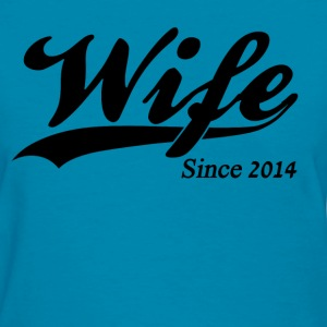 Wife Since 2014 Women's T-Shirts - Women's T-Shirt
