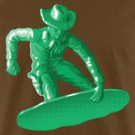 Design ~ Green snowboarding toy