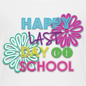 Girls Happy Last Day of School T Shirt - Kids' Premium T-Shirt